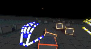LEAP MOTION  Reach into virtual reality with your bare hands. Leap Motion's hand  tracking technology is designed to be embedded directly into VR/AR  headsets.