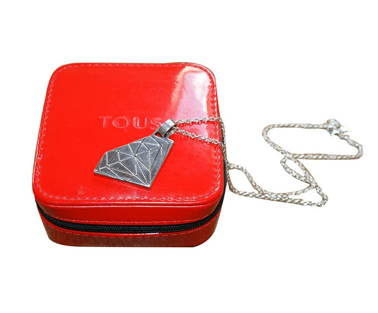 Colgante de plata forma diamante Tous 45.00€
