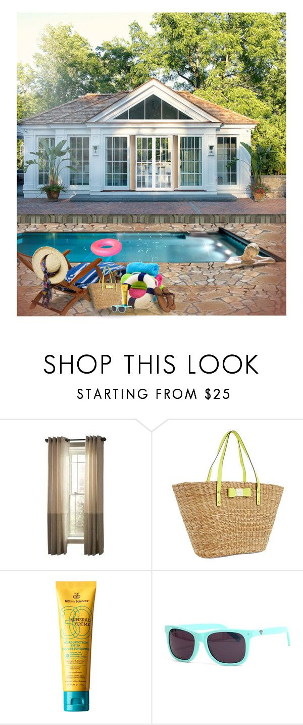 At The Pool By Divine Designer Liked On Polyvore Featuring Interior Diamond Supply Copoolsdesign Homesinterior Decoratingdiamondsinteriorshome
