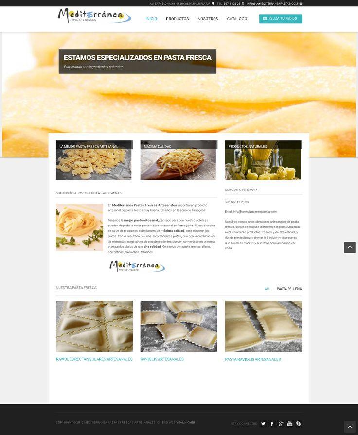 La Pasta Mediterranea   DigitalWebySeo
