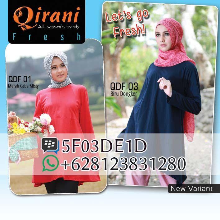 Qirani QDF 01, Qirani QDF 03, Qirani Fresh 2016. Dapatkan item ini di distributor resmi Filaika.com Hubungi : SMS / Whatsapp : 08123831280 BBM : 5F03DE1D
