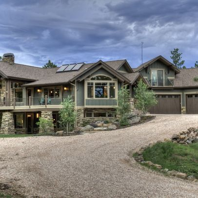 Mountain Exterior Color Schemes Design Ideas Pictures Remodel And Decor Exterior Home