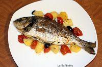 LA BUFFETTA il blog di ricette fotografate passo passo...: ORATA IN CARTOCCIO AL FORNO