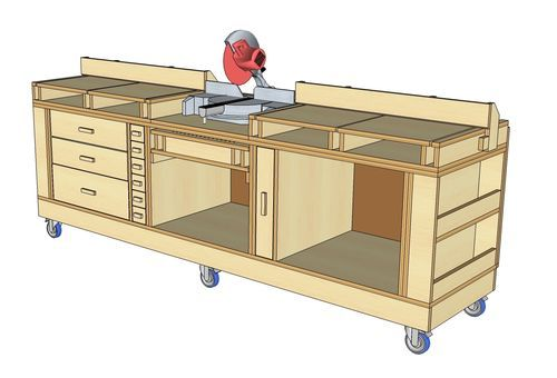 Workbench Plans YAWB - Yet Another Workbench (Or My Take on the Ultimate Tool Stand) - by mrhamm...