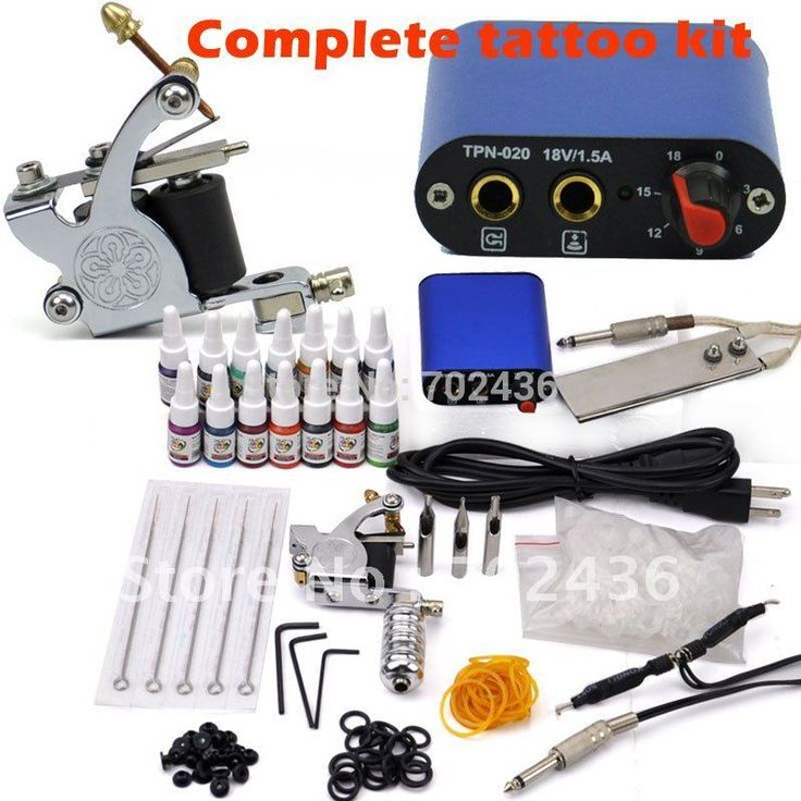 Professional Tattoo Kit Set 1 Tattoo Machine Guns 14 Color Inks Power Supply body art DHL or EMS Free shipping Nail That Deal https://nailthatdeal.com/products/professional-tattoo-kit-set-1-tattoo-machine-guns-14-color-inks-power-supply-body-art-dhl-or-ems-free-shipping/ #shopping #nailthatdeal