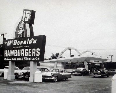 » McDonald's Goes Retro with 1955 Burger