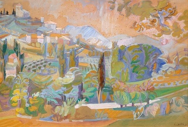 Paysage de Provence - Andre Lhote, 1946