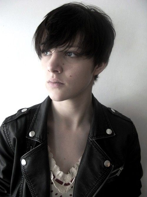 1000 Ideas About Androgynous Hair On Pinterest