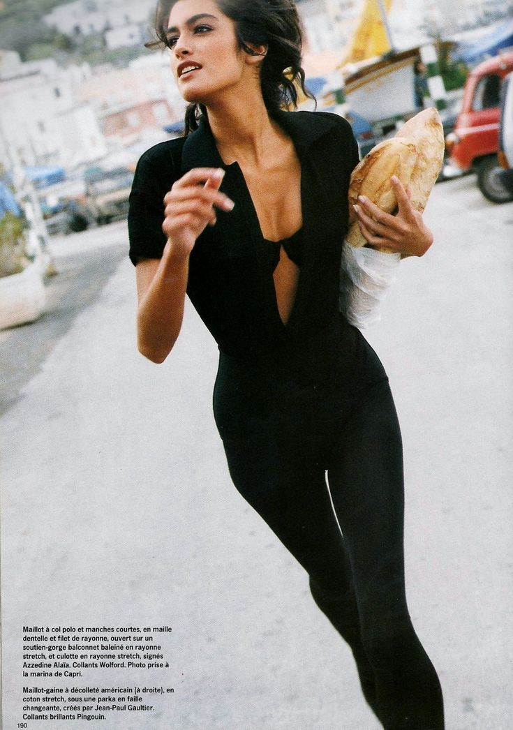 'Bain Urbain' from…………..Vogue Paris February 1990 feat Yasmeen Ghauri