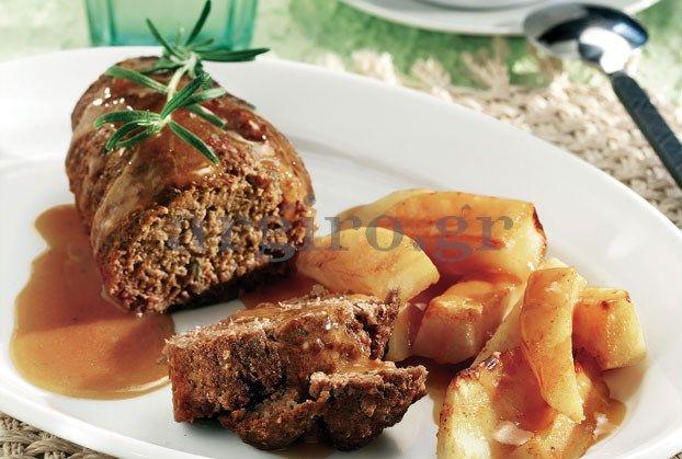 ΡΟΛΟ ΚΙΜΑ ΤΗΣ ΑΡΓΥΡΩΣ (Πεντανοστιμο) Μία πραγματικά σπουδαία και πεντανόστιμη συνταγή που θα ενθουσιάσει την οικογένεια και τους καλεσμένους σας. ρολό χοιρινό με πλούσια σάλτσα