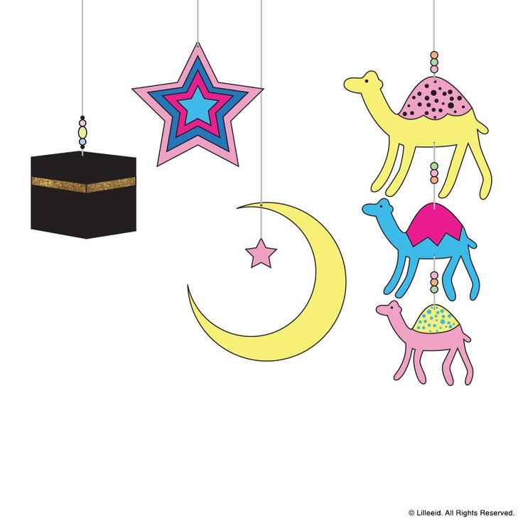 A Special Journey Ramadan & Eid decoration