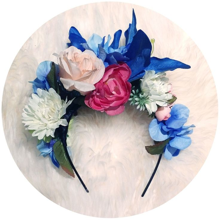 Image of ..I love.. FRIDA LILY HEAD BAND
