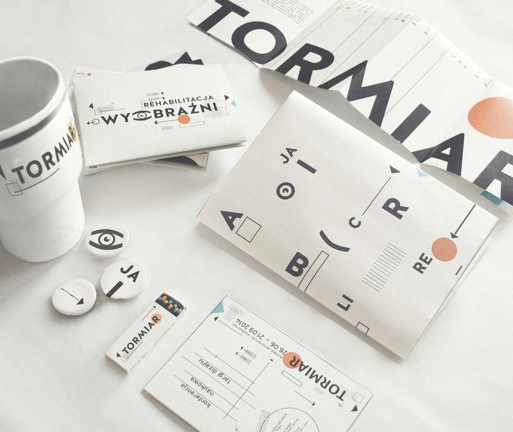 TORMIAR. Festiwal of Architecture and Design Visual Identity by Karolina Ryfka