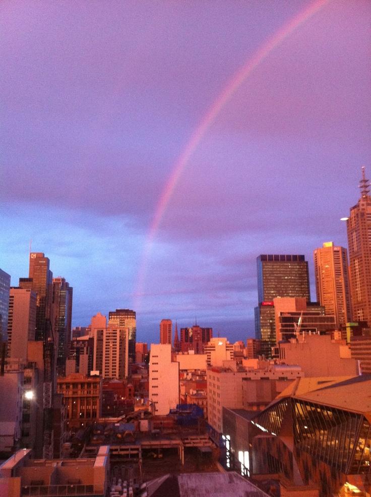 Hello, Rainbow City.