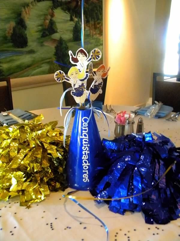 Best cheerleading banquet ideas images on pinterest