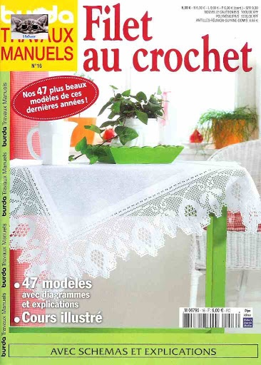 Burda filet № 16 - Nenugnoje - Picasa Web Albums: Magic Crochet, Booklet Crochet Knits, Crochet Books, Picasa Webalbum, Burda Filet, Filet Crochet, Web Album, Crochet Magazines, Revista Crochet