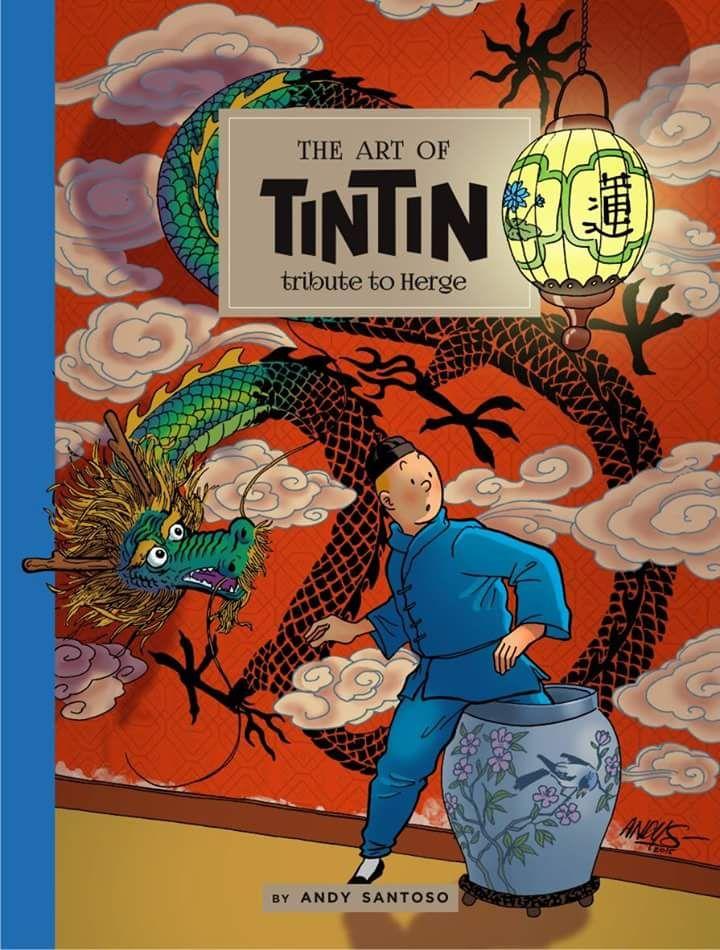 Les Aventures de Tintin - Album Imaginaire - The Art of Tintin