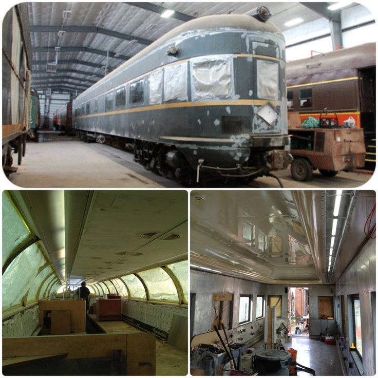Pullman Rail Car Restoration.