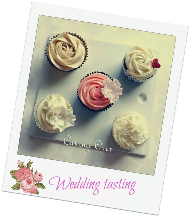 Wedding tasting by Caking Over