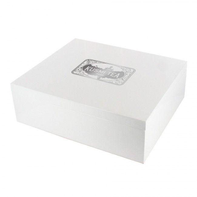 Coffret bois laqué Pianowhite - Coffrets de sachets - Assortiments & Cadeaux
