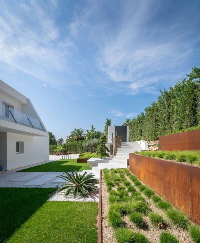 Best Yards Images On Pinterest Home Design Blogs Yards And - Bn house perfect space for relaxation surrounded by exotic landscape madrid spain
