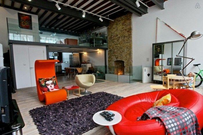 Great Loft Wohnung Einrichtungsbeispiele Wohnideen Deko Ideen Offener Raum11 |  Architektur U2013 Moderne Häuser Und Gebäude | Pinterest Home Design Ideas