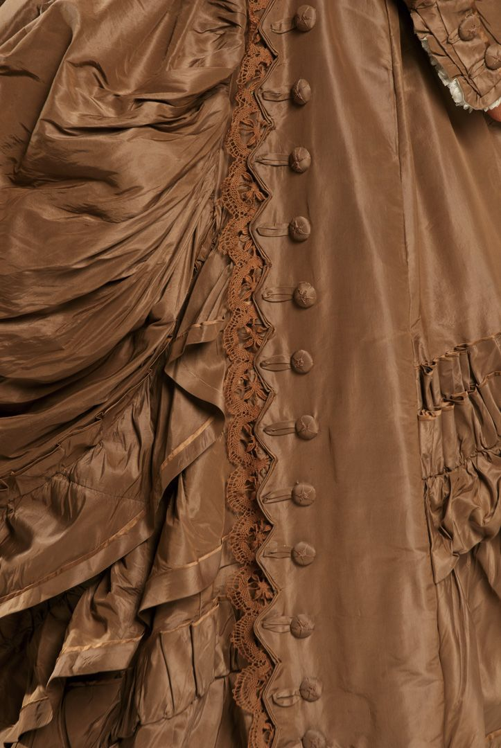 Wedding dress, 1872-76 From the Agnes Etherington Art Centre at Queen's University