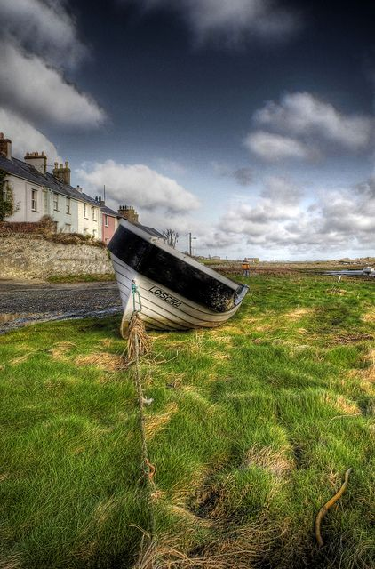Fishing Village of Aberfraw in Anglesey, Wales