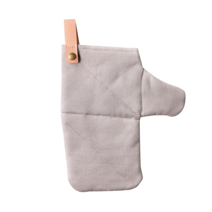 Canvas Oven Glove, Grey, Ferm Living