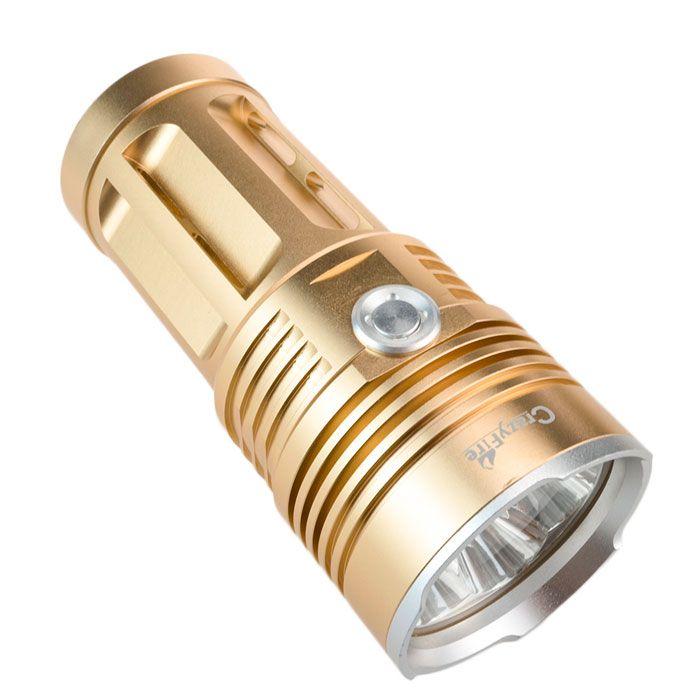 CrazyFire 5000 Lumen 4x CREE XM-L T6 LED 30W Linternas Light 18650 High Power Flashlight Lantern For Camping Hiking Outdoor #Affiliate