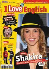 """Vous retrouvez dans ce nouveau numéro un article sur Shakira, la """"success story"""" d' Agatha Christie, the queen of crime fiction mais aussi en - LOOK : meet the Maori - REPORT : Great Britain et USA, are they different ?"""
