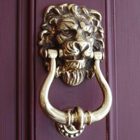 solid brass lion door knocker knockers amazon head tattoo