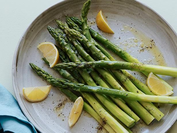 Get Steamed Asparagus Recipe from Food Network