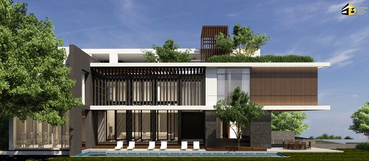 37 best portfolio of archiplus studio bangkok images on for Modern house yangon