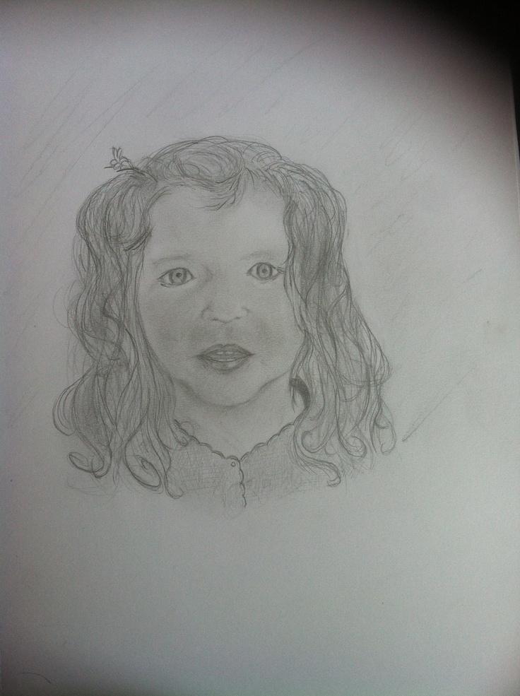My beautiful niece Amelie