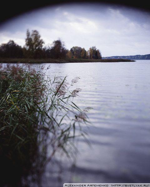 Озеро Мстино подле Академической Дачи имени И.Е.Репина.