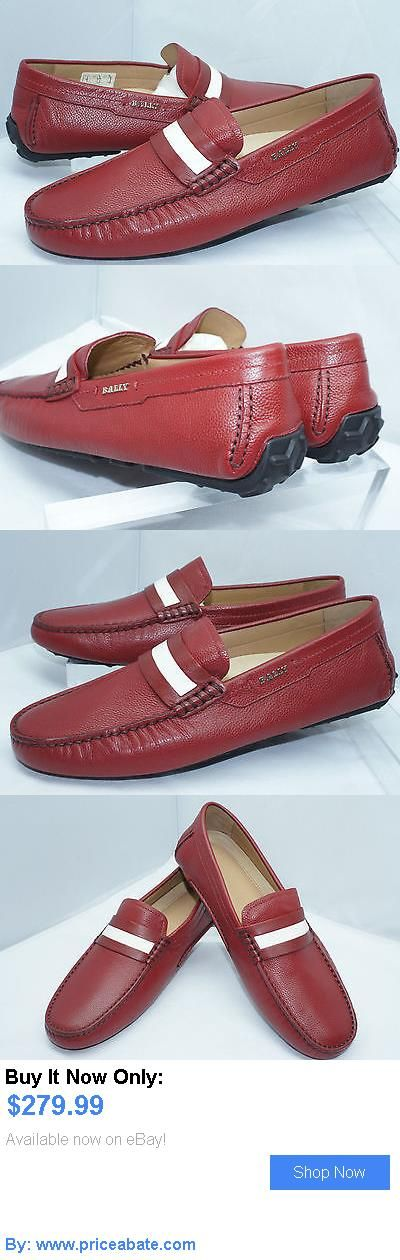 Men Shoes: Bally Mens Red Shoes Size 8 New Loafers Drivers Leather Nib BUY IT NOW ONLY: $279.99 #priceabateMenShoes OR #priceabate