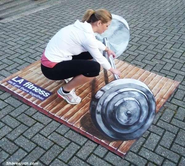 3D Street Art Photographs   So Amazing