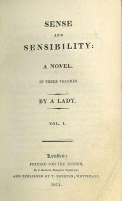 Worth Reading, Classic Book, Book Worth, Sense And Sensibility, Sen And Sensibility, Anniversaries, Jane Austen, Novels