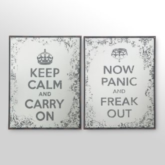 My life in a two panel wall set....