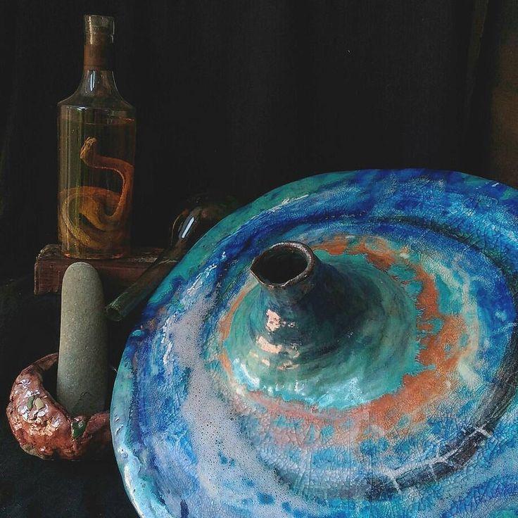 Scultura in ceramica maiolica vaso Sculpture huge italian ceramic art pottery faience vase oddities majolica art arte artceramic di studyartantique su Etsy