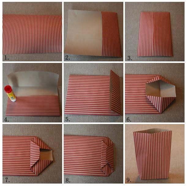 Göra egen papperspåse