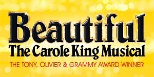 "Get Great Deals at Theatre Tickets Direct: Book Now for ""Beautiful"" The Carole King Musical at the Aldwych Theatre London https://goo.gl/Jhu8jZ"
