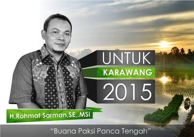Petani Organik Siap Maju di Pilkada Karawang 2015