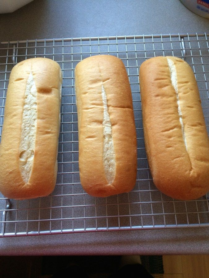 Subway Sandwich Bread DIY