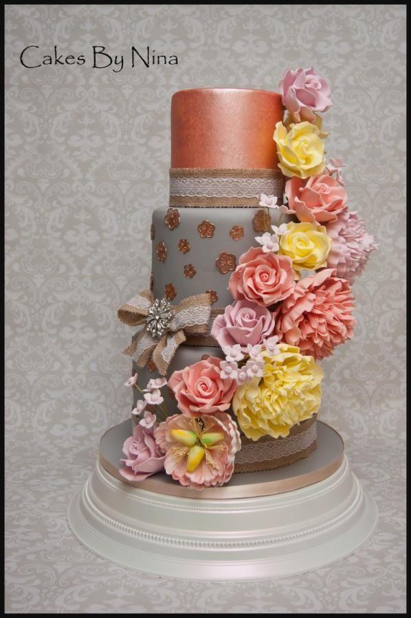 """""""Sophia"""" - Cake by Cakes by Nina Camberley"""