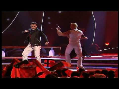Eurovision 2004 Semi Final 01 Finland *Jari Sillanpaa* *Takes 2 To Tango* 16:9 - YouTube