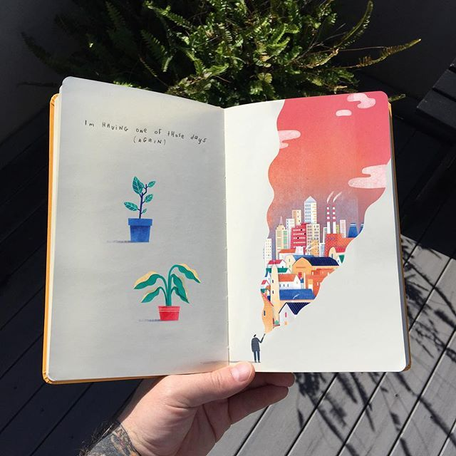 mark conlan. // sketchbook