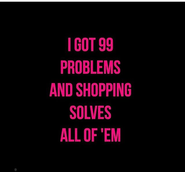 #Shopping is a therapy!