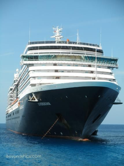 Profile and photo tour of Holland America's cruise ship Zuiderdam with interviews, reviews, menus and other information http://www.beyondships.com/HAL-Zuiderdam.html